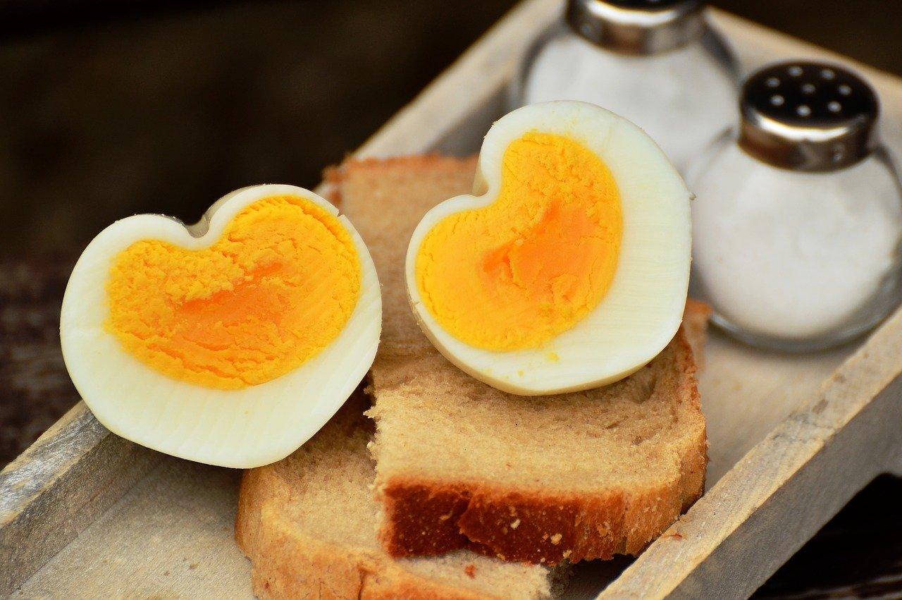 Ostrich Boiled Egg