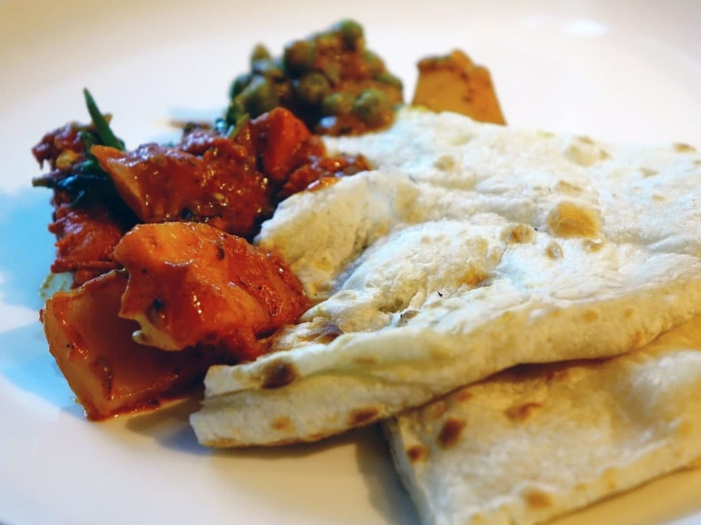 food that start with N Naan