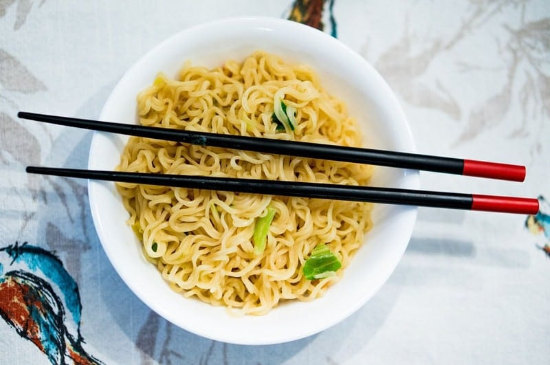 food that start with N Noodles