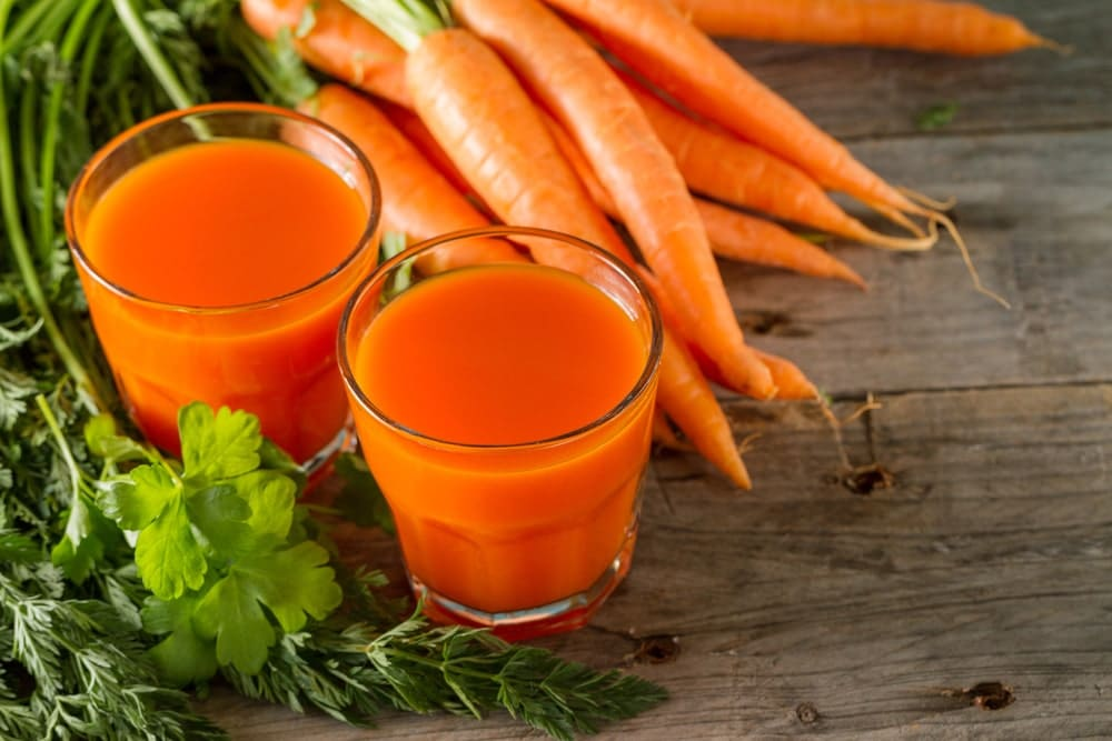 impressive carrots juice benefits